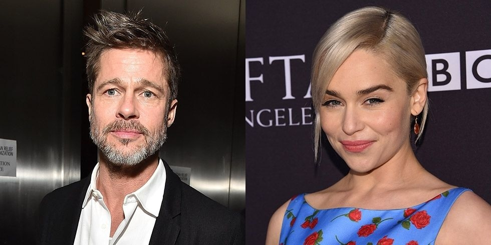 Brad Pitt Was Willing To Spend $120,000 To Watch 'Game Of Thrones' With Emilia Clarke