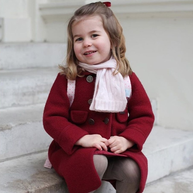 Princess Charlotte's First Day Of School Was As Adorable As You Expected
