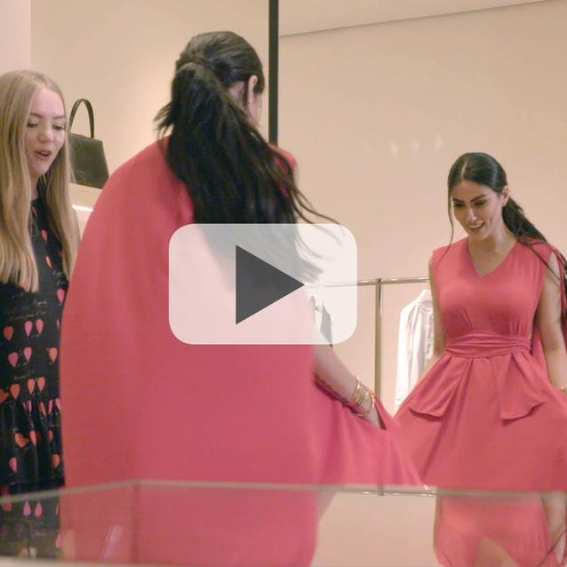 Watch: Bazaar Goes Shopping With Diala Makki