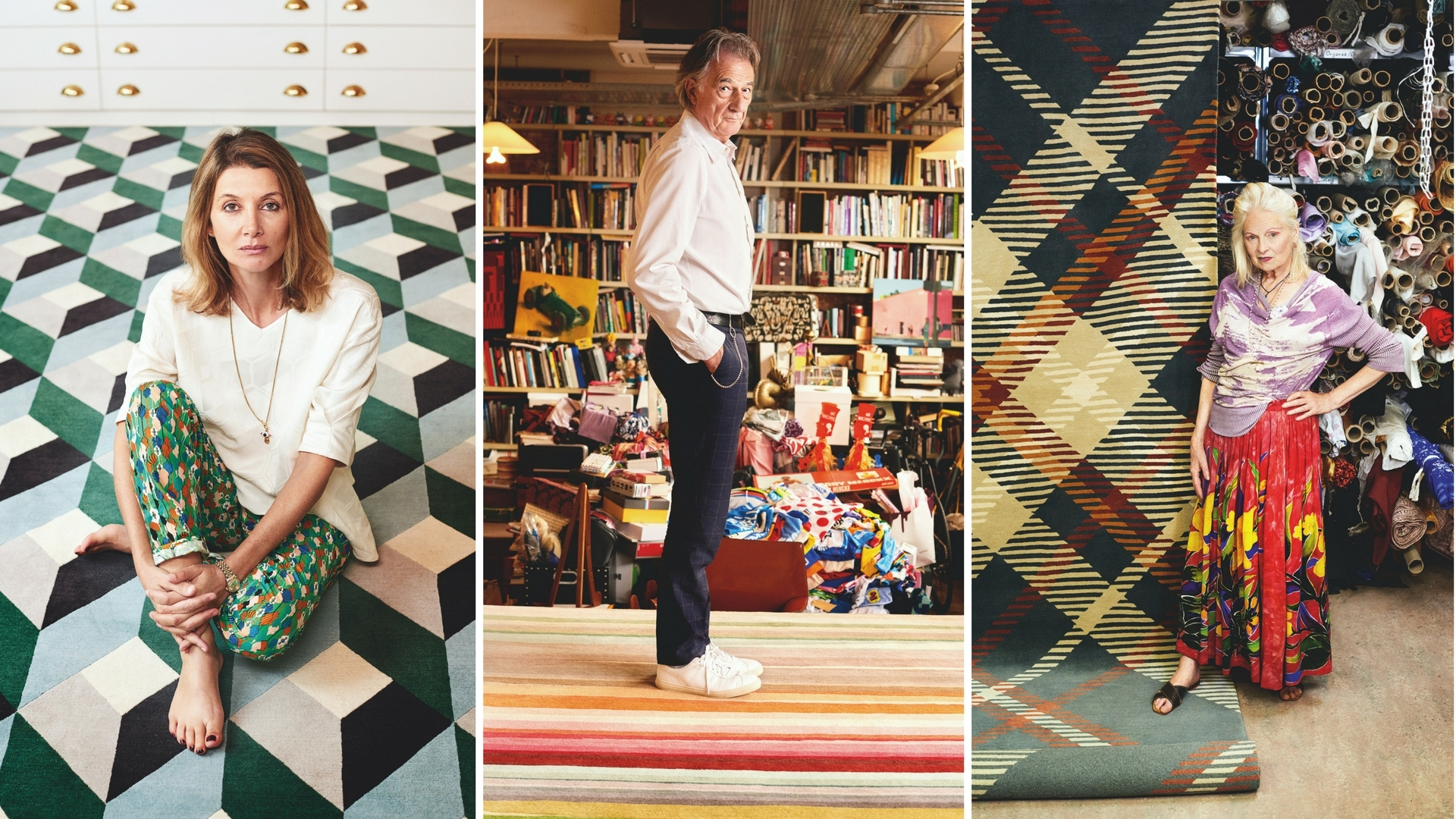 Fashionable Floors: Here's How The Rug Company Celebrated Its 20th Anniversary