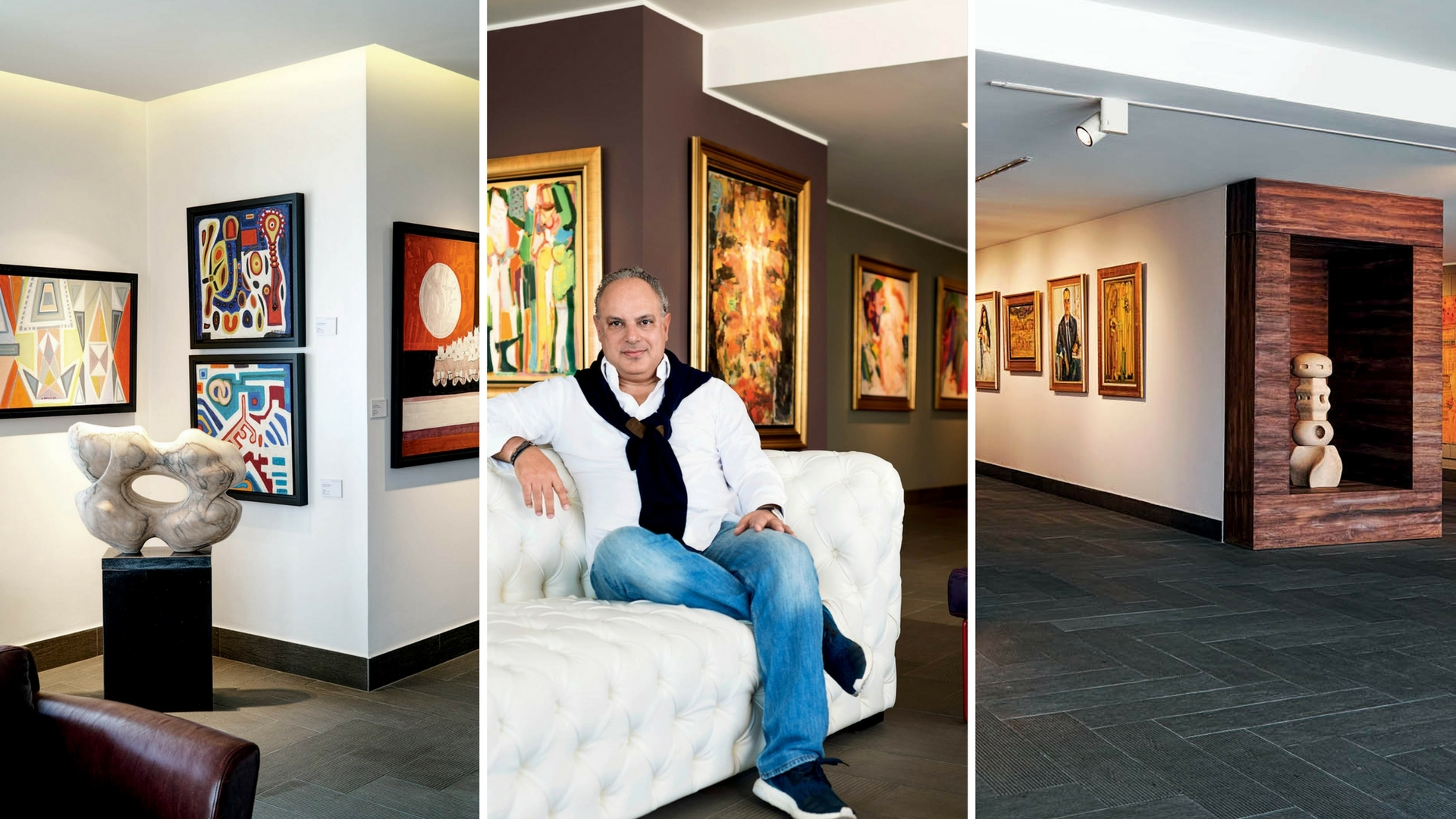 This Beirut-Based Collector Has A Treasure Trove Of Arab Art