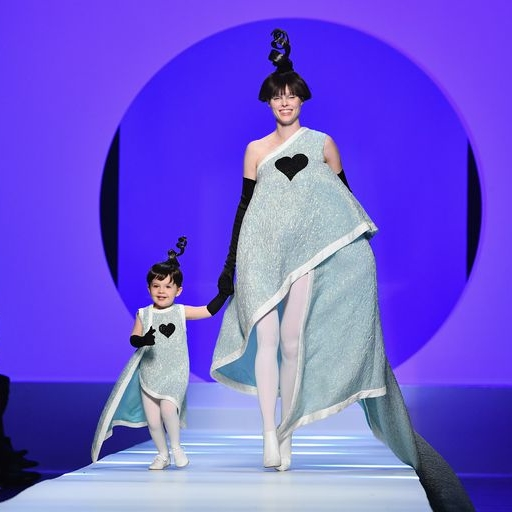 Coco Rocha Just Walked The Haute Couture Runway With Her 2-Year Old Daughter