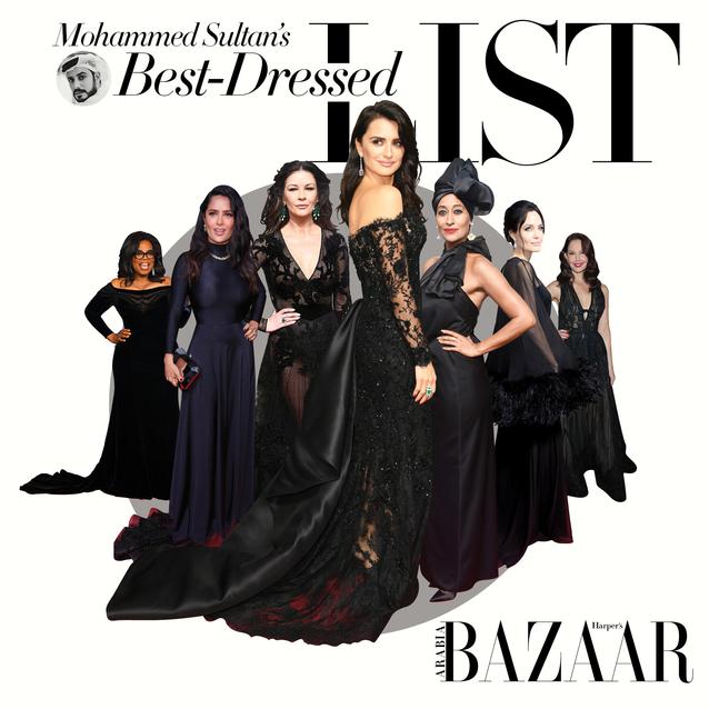 Golden Globes Power Dressing: Mohammed Sultan's Best Dressed List