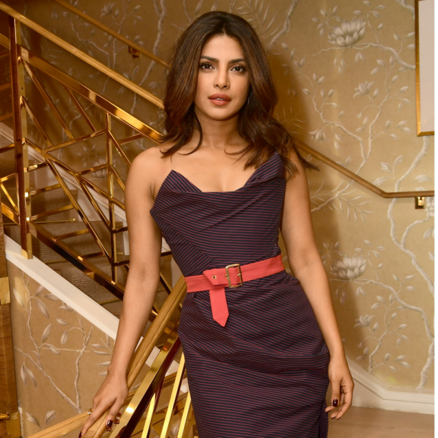 Priyanka Chopra Just Stepped Out In Dubai-Based Abaya Designer