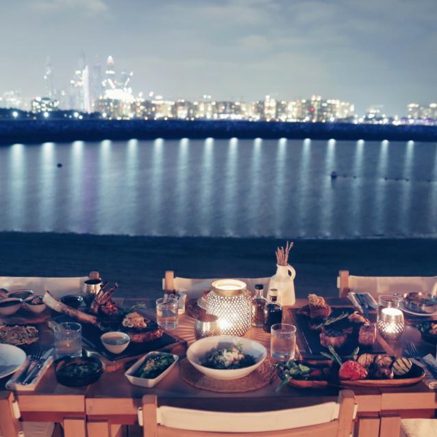 #ChicEats: El Chiringuito's Candle-Lit Beach Dinner