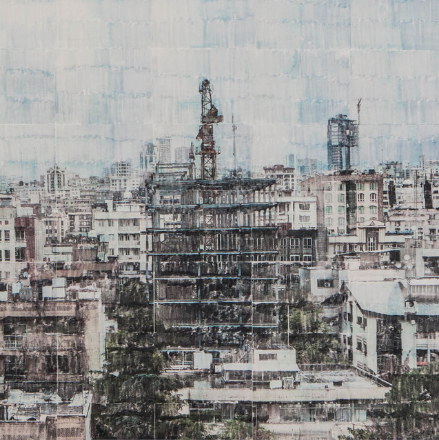 Art Exhibition In Tehran: Sasan Abri At Mohsen Gallery