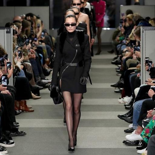Alexander Wang's Final Fashion Week Show Paid Sartorial Tribute To 'The Matrix'