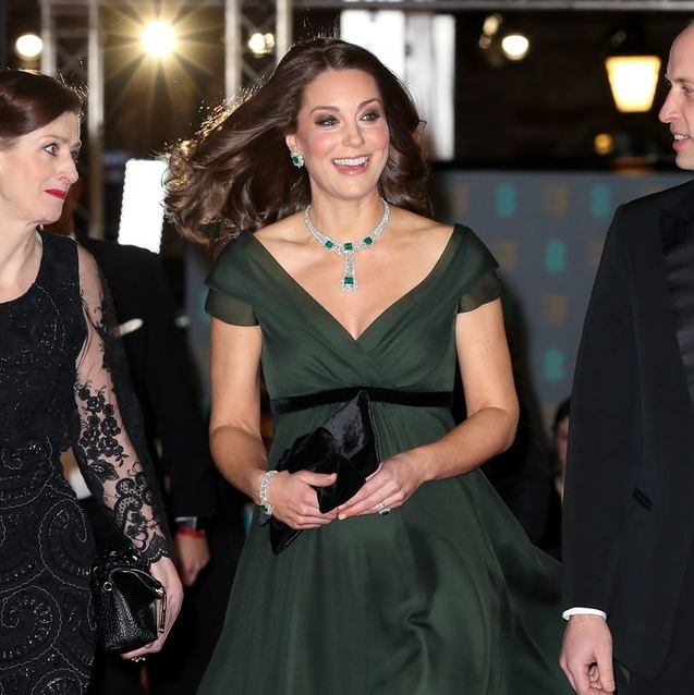 Why The Duchess Of Cambridge Didn't Follow The Time's Up All-Black Dress Code At The Baftas