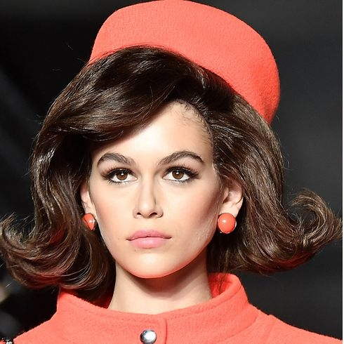 Bouffant Bobs Ruled The Runway At Moschino
