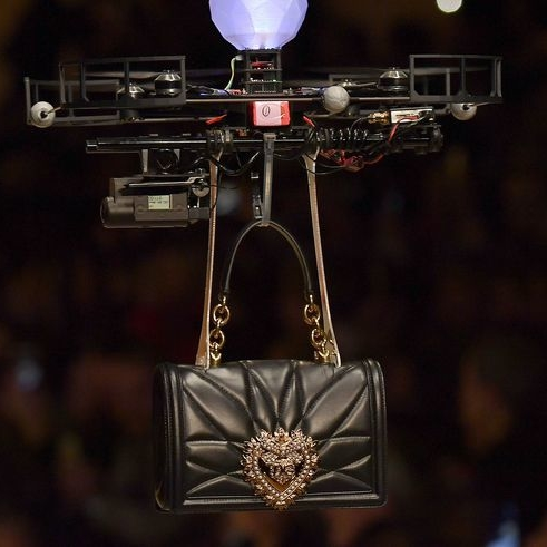 Dolce & Gabbana Just Sent Drones Down The Runway