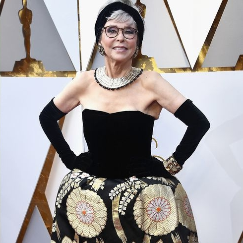 Rita Moreno Re-Wore Her Gown From The 1962 Oscars
