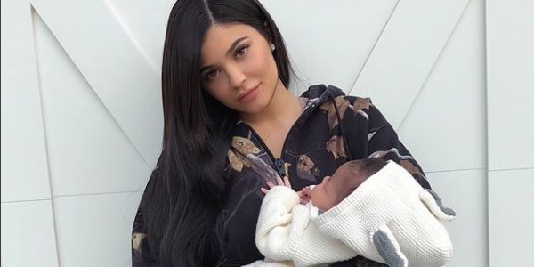 Kylie Jenner Shares More Pictures Of Stormi Webster And Her Adorable Cheeks