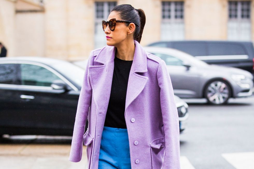 Lilac Is Back, But Don't Be Afraid: How To Wear It Now