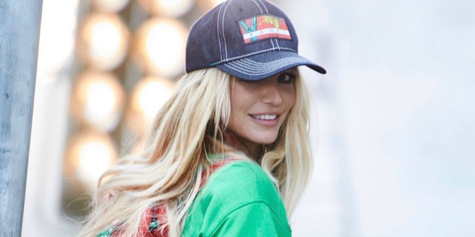 Britney Spears Stars In New Kenzo Campaign