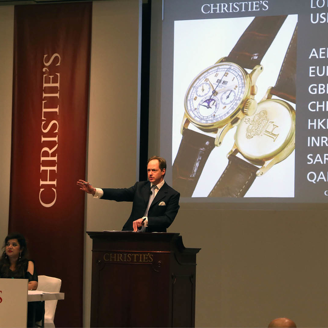 King Farouk's Patek Philippe Just Sold For Nearly US $1million