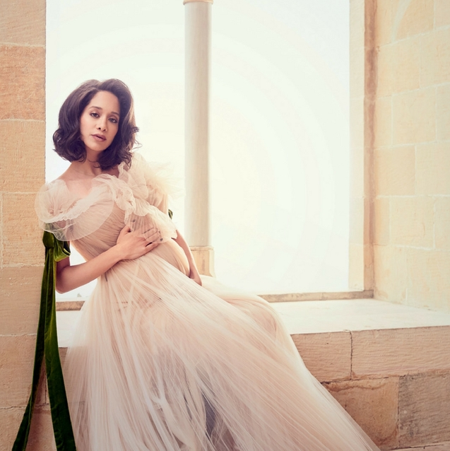 Interview: Junior Cover Star Lana El Sahely On Pregnancy And Motherhood