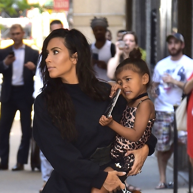 Kim Kardashian Just Shared Her First Family Portrait With Chicago West