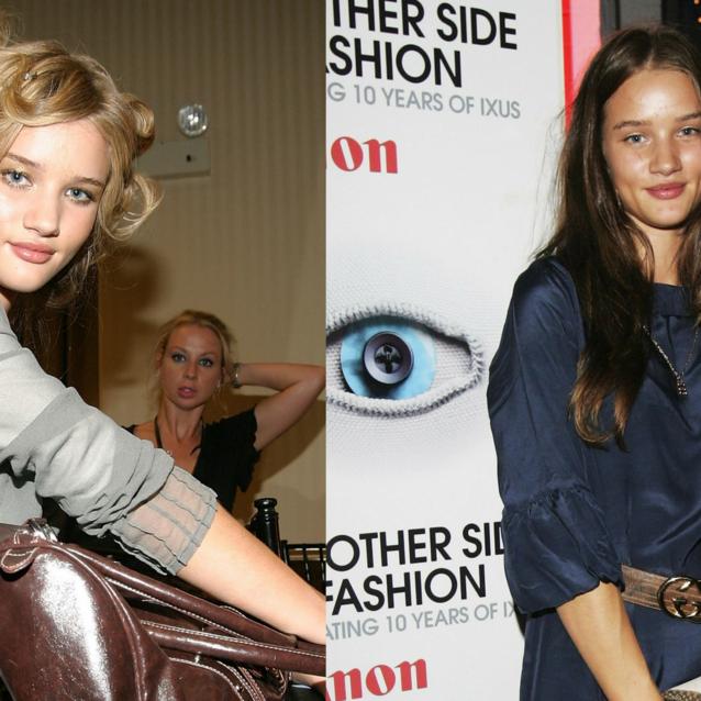 13 Super Cute Rosie Huntington-Whiteley Throwback Photos