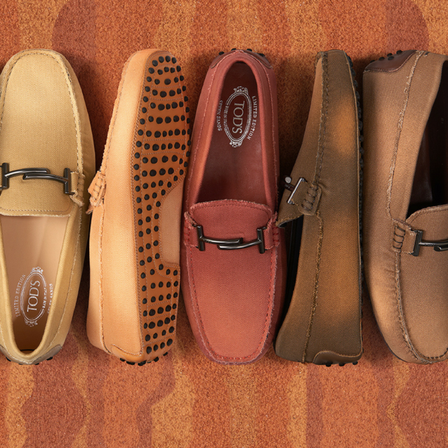 Tod's Has Released 7 Shoes To Match The 7 Arab Emirates