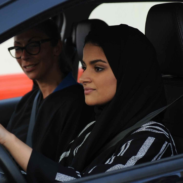 Women In Saudi Arabia Are Offering Each Other Free Driving Lessons