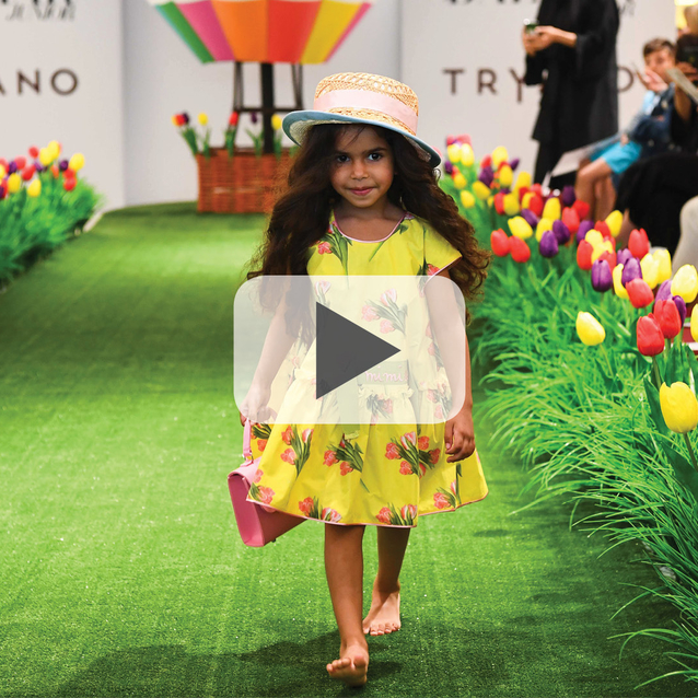 Watch: Tryano Childrenswear Fashion Show