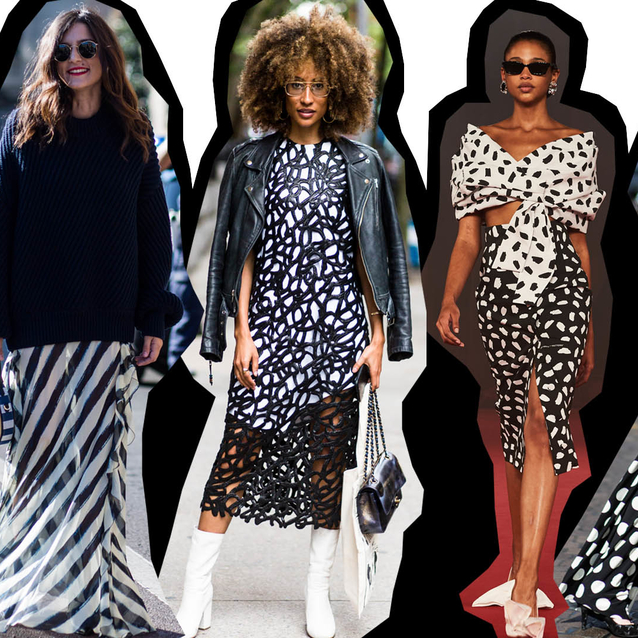 Trending: Go Graphic With Black & White Tones