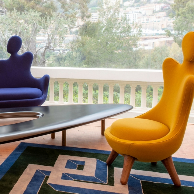 A Design Fair At Karl Lagerfeld's Former Monaco Villa
