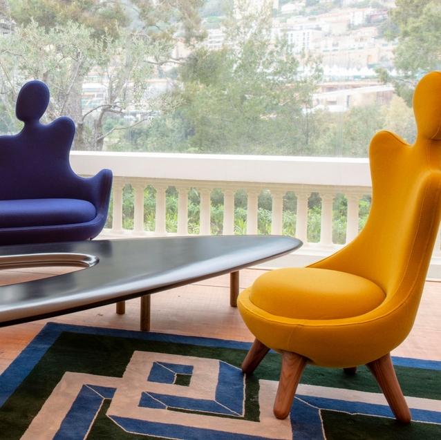 A Design Fair At Karl Lagerfeld's Former Monaco Villa