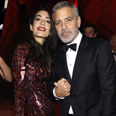 Amal Clooney Wore A Second Outfit Inside The Met Gala