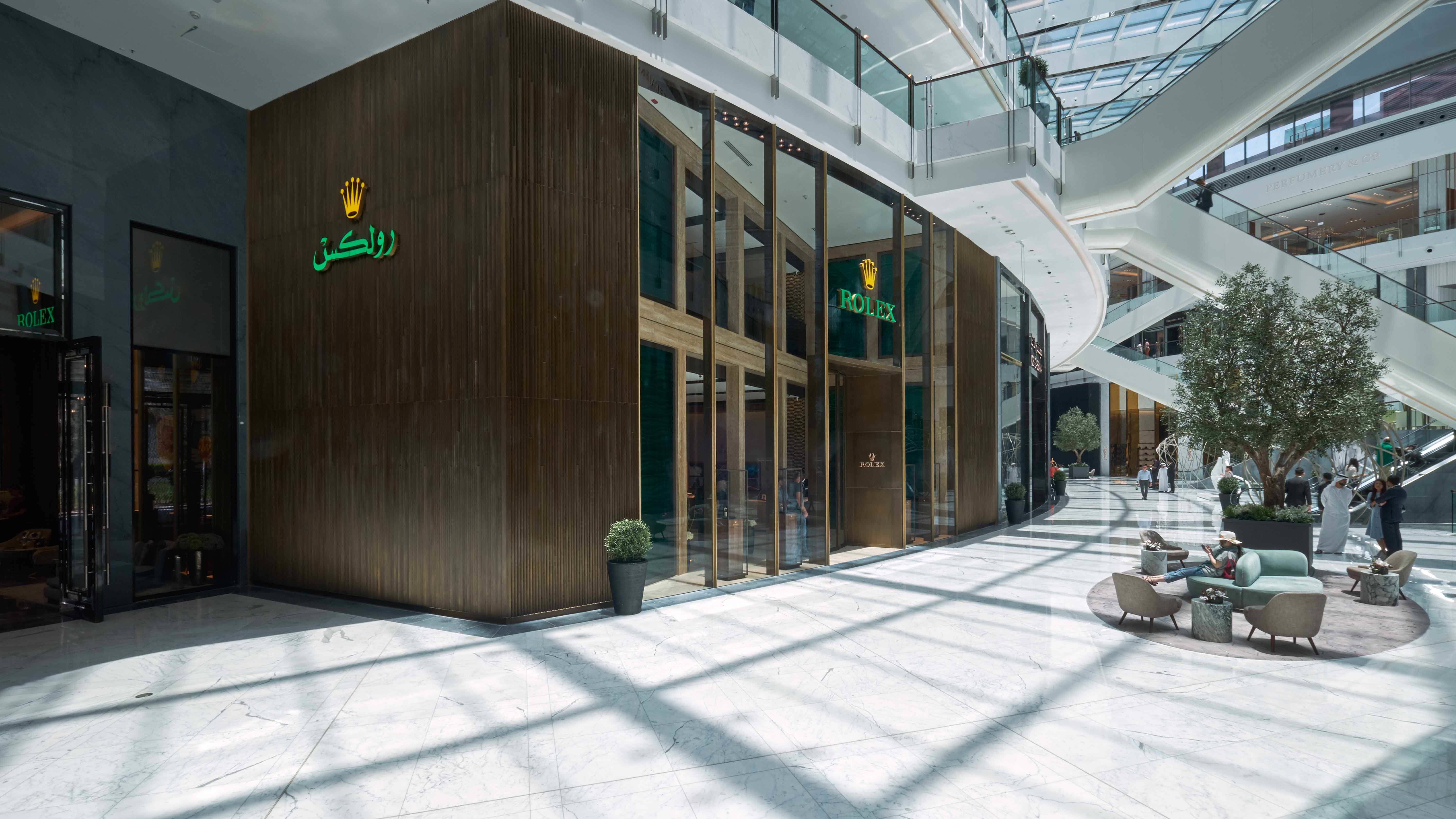 The Dubai Mall Is Now Home To The World's Biggest Rolex Boutique