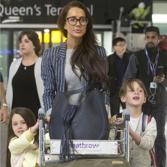 Meghan Markle's Best Friend Jessica Mulroney Arrives In London For The Royal Wedding