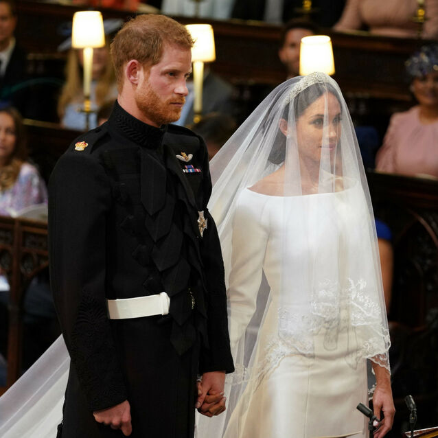 Revealed: Meghan Markle's Wedding Dress Is by Givenchy