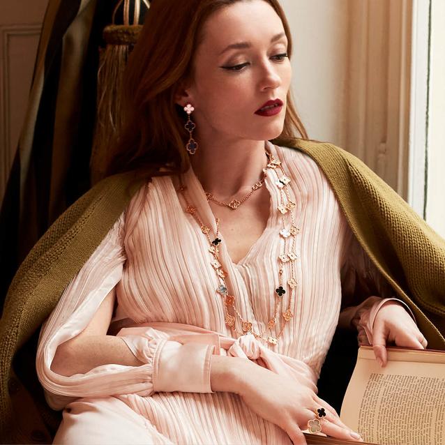 Van Cleef & Arpels Reveals 50th Anniversary Alhambra Jewels
