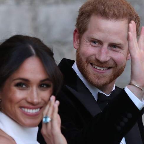 Meghan Markle And Prince Harry Sent Out The Sweetest Wedding Thank You Cards