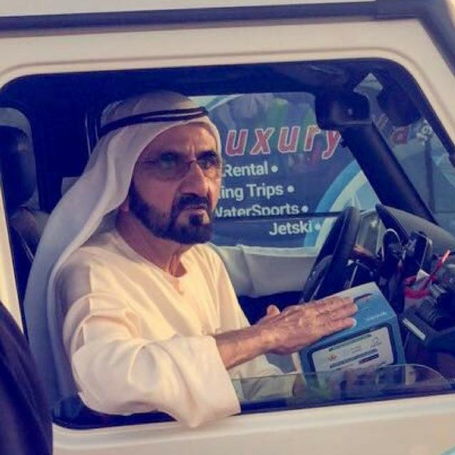 Sheikh Mohammed Surprises Ramadan Volunteers