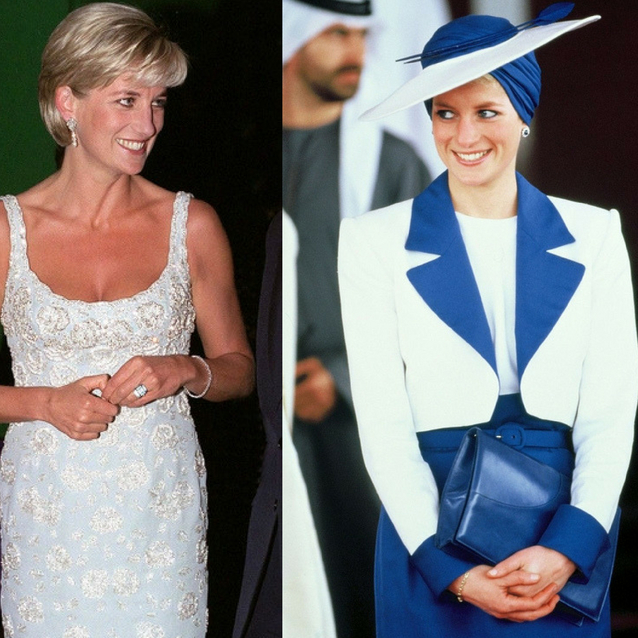 Princess Diana's Style Evolution In 65 Photos