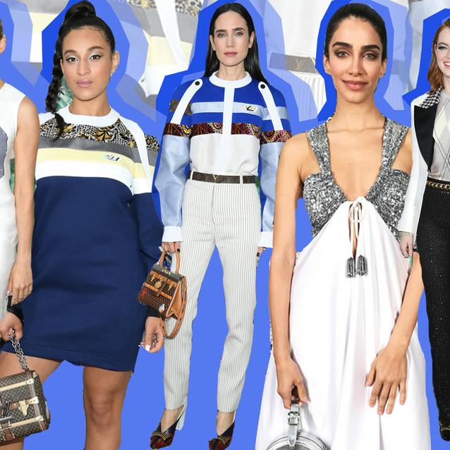 The Front Row At Louis Vuitton's Cruise 2019 Show Was Packed With Celebrities