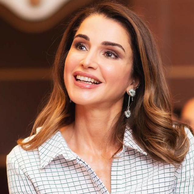 Queen Rania Just Wore The Perfect Iftar Outfit
