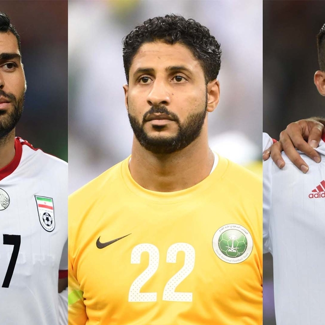 10 Times We Swooned Over Middle Eastern Footballers Playing In The 2018 FIFA World Cup