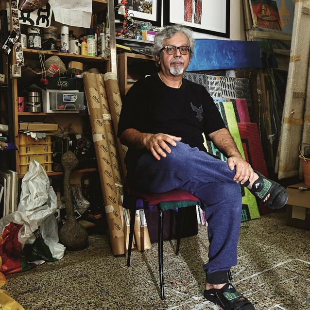 A Visit To Emirati Artist Mohammed Ahmed Ibrahim's Khorfakkan Studio