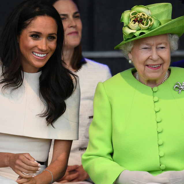 Pictures: All The Sweetest Moments Between Meghan Markle And Queen Elizabeth During Their Royal Visit To Chester