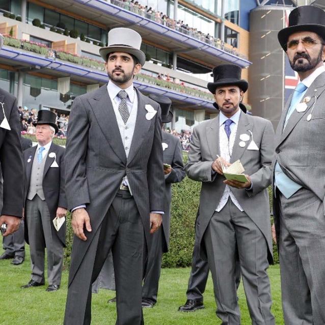 Pictures: Dubai Royal Family Attend Royal Ascot 2018