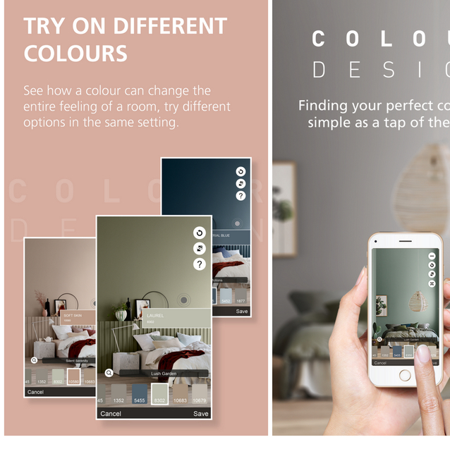 How Would That Colour Look On Your Wall? Tap Your Phone Screen To Find Out