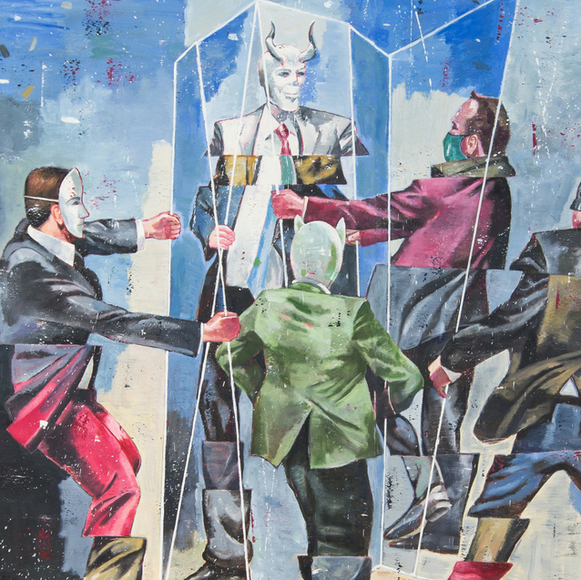 Review: Iranian-American Painter Nicky Nodjoumi At Dubai's The Third Line