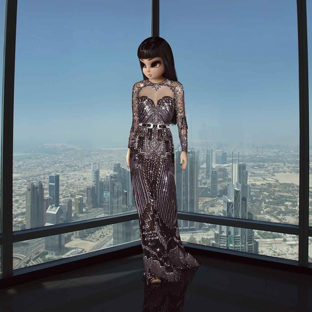 Virtual Influencer NooNoouri Makes Middle Eastern Debut In Burj Khalifa Photoshoot