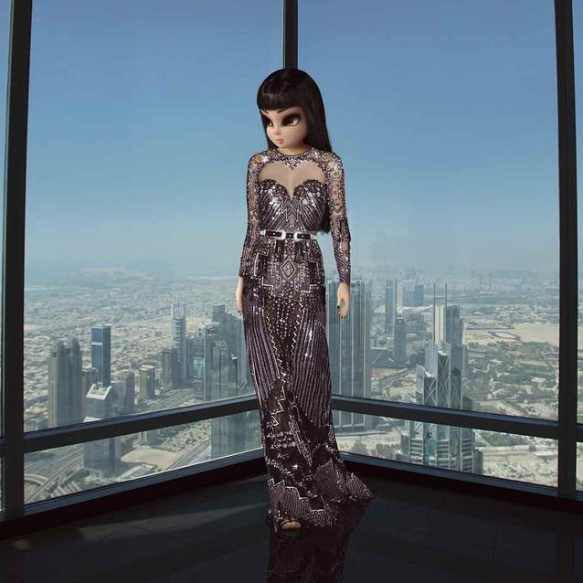 Virtual Influencer NooNoouri Makes Middle Eastern Debut In Burj Khalifa Photoshoot