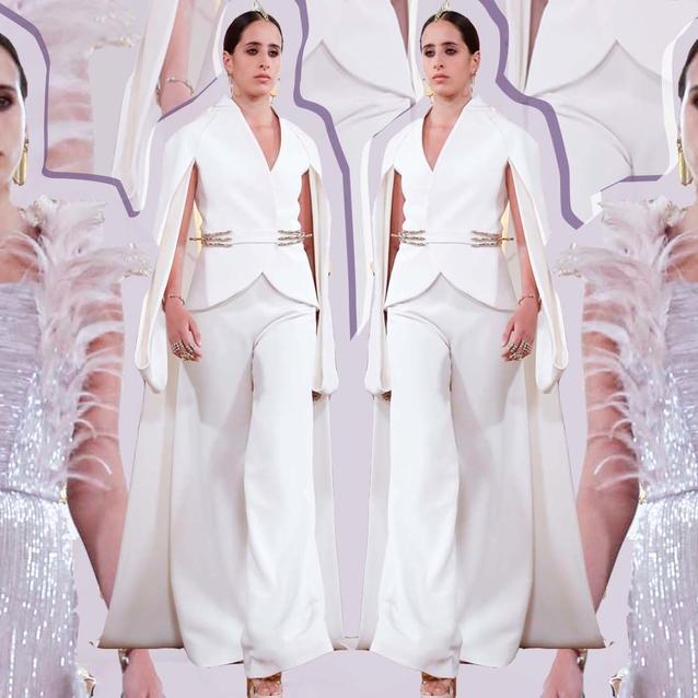 Saudi Model Taleedah Tamer Makes Her Haute Couture Debut At Antonio Grimaldi