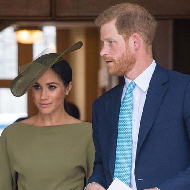 The Duchess Of Sussex Wore Khaki Green To A Royal Outing