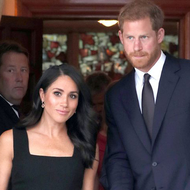 Meghan Markle Wears A Sleeveless Little Black Dress For Her Third Outfit Of The Day