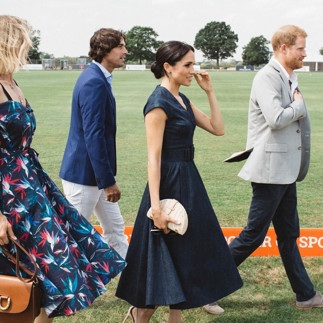 Pictures: Meghan And Harry's Day At The Polo